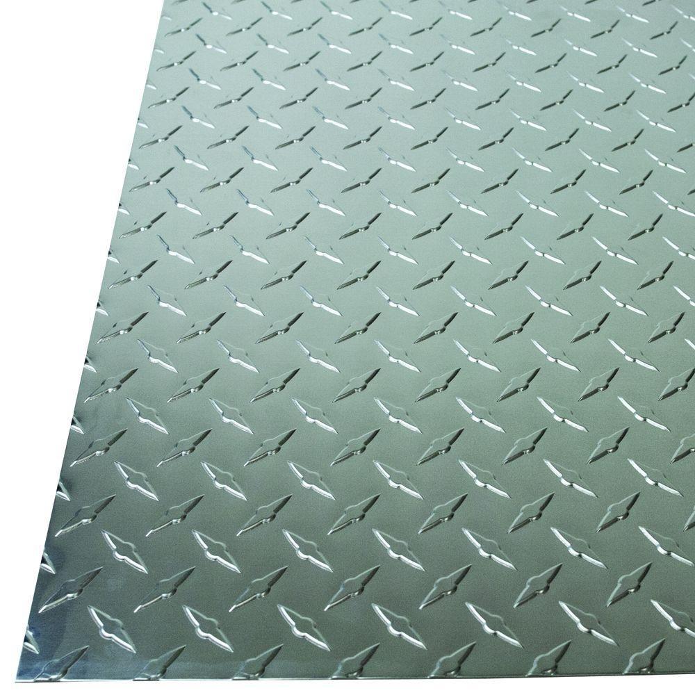 M-D Building Products 57307 Alum SHT Diamond Tread 36X36X.025, 36 x 36 x 0.025, Aluminium M-D Building Products (MADK9)
