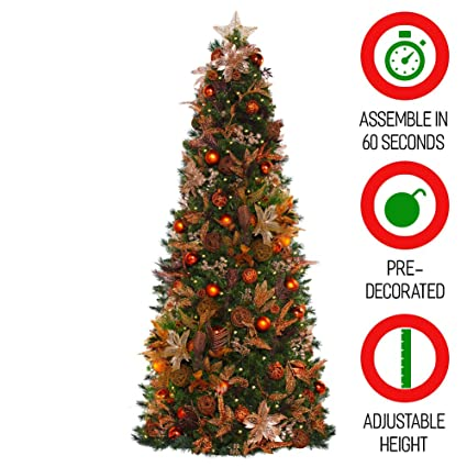 easy treezy prelit christmas tree easy setup storage in 60 seconds realistic douglas