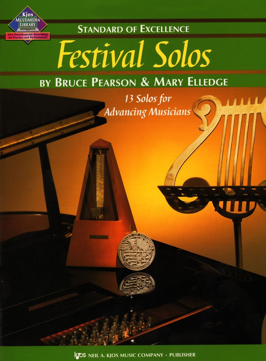 Read Online W39TP - Standard of Excellence - Festival Solos Book 3 - Trumpet ebook