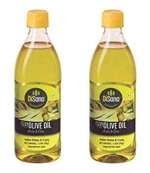 Disano Extra Light Olive Oil, 1L (Pack of 2)