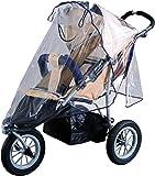 Sunnybaby - 10083 - Habillage pluie universel pour Poussette Shopper, Jogger ou Buggy avec canopy