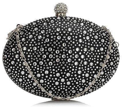 8e99ba691 Small Size Ladies Women's Chic Diamante Beaded Cute Little Evening Bag  Clutch Bags Purses Wedding Party