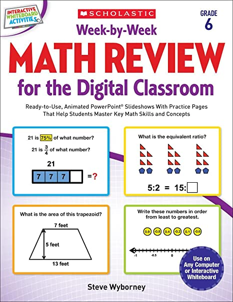 weekbyweek math review for the digital classroom grade  ready  weekbyweek math review for the digital classroom grade  ready