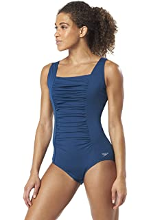 f376ccdfb8 Amazon.com: Speedo Women's Powerflex Conservative Ultraback One ...