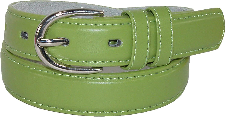 CTM Kids Leather 1 inch Basic Dress Belt