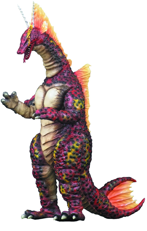 X-PLUS Godzilla Kaiju Serie Titanosaurus Figur, 30,5 cm