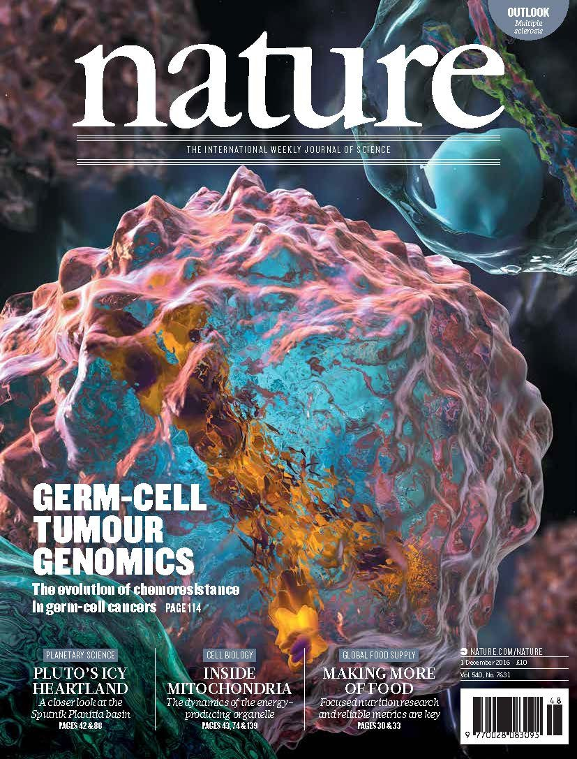 "Download Nature Magazine 1 December 2016 ""Germ Cell Tumor Genomics"" Outlook: Multiple Sclerosis ebook"
