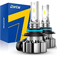 $20 » ZonCar H10 Led Fog Light Bulbs, 5000 Lumens 9145 9140 Fog Light Bulbs 6000K Xenon White…