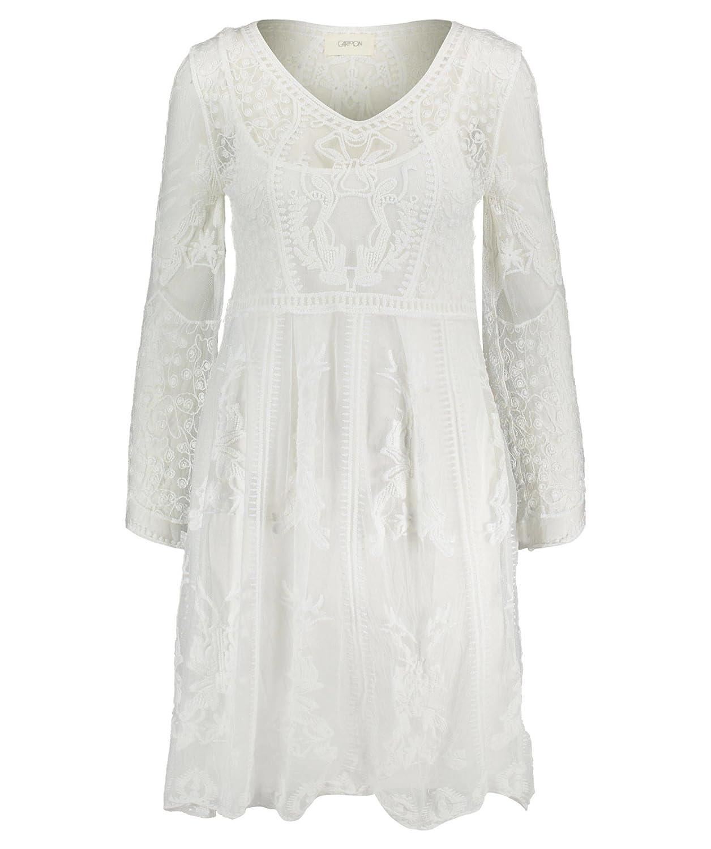 29fab87330233a Cartoon Damen Kleid Offwhite (20) S: Amazon.de: Bekleidung