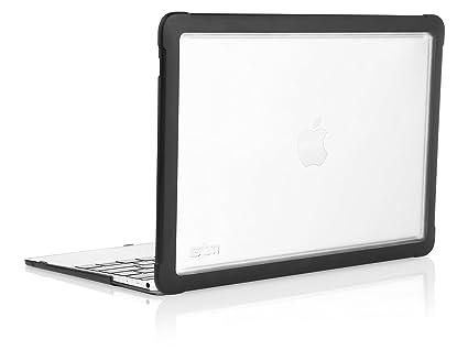buy popular 5fe86 4c324 STM Dux Rugged Case for MacBook 12-Inch - Black (stm-122-094L-01)