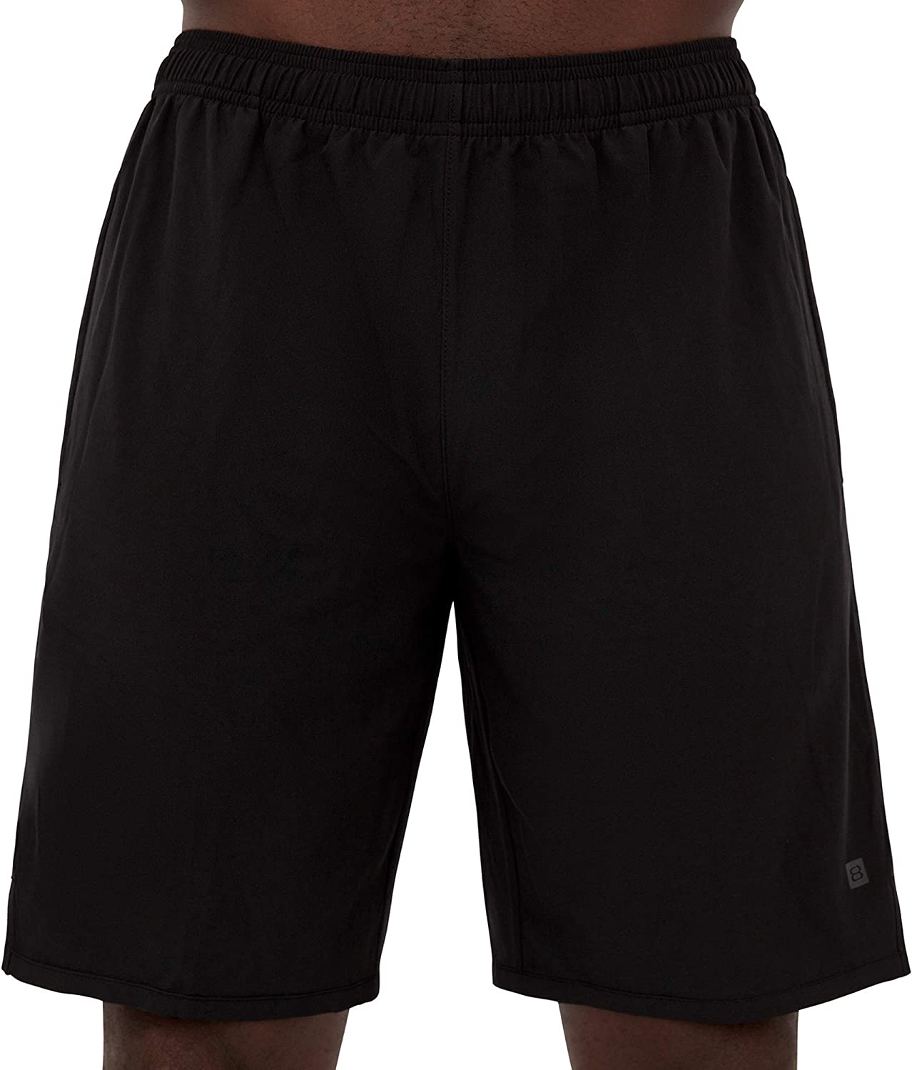 Layer 8 Mens Hybrid All Purpose Workout Woven Athletic Shorts 7 and 9 Inch Inseams