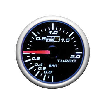 Raid HP 660181 Turbo Boost Display Dashboard Instrument Night Flight Blue: Amazon.es: Coche y moto