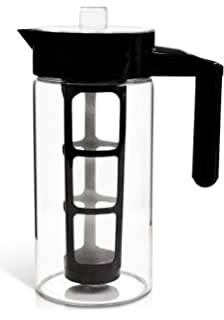 zell cold brew coffee maker best home iced coffee u0026 tea maker with removable coffee