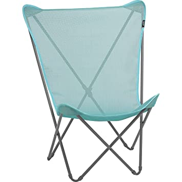 Lafuma Outdoor Armchair Foldable And Compact Maxi Pop Up Batyline Colour Lake Lfm1837 8553