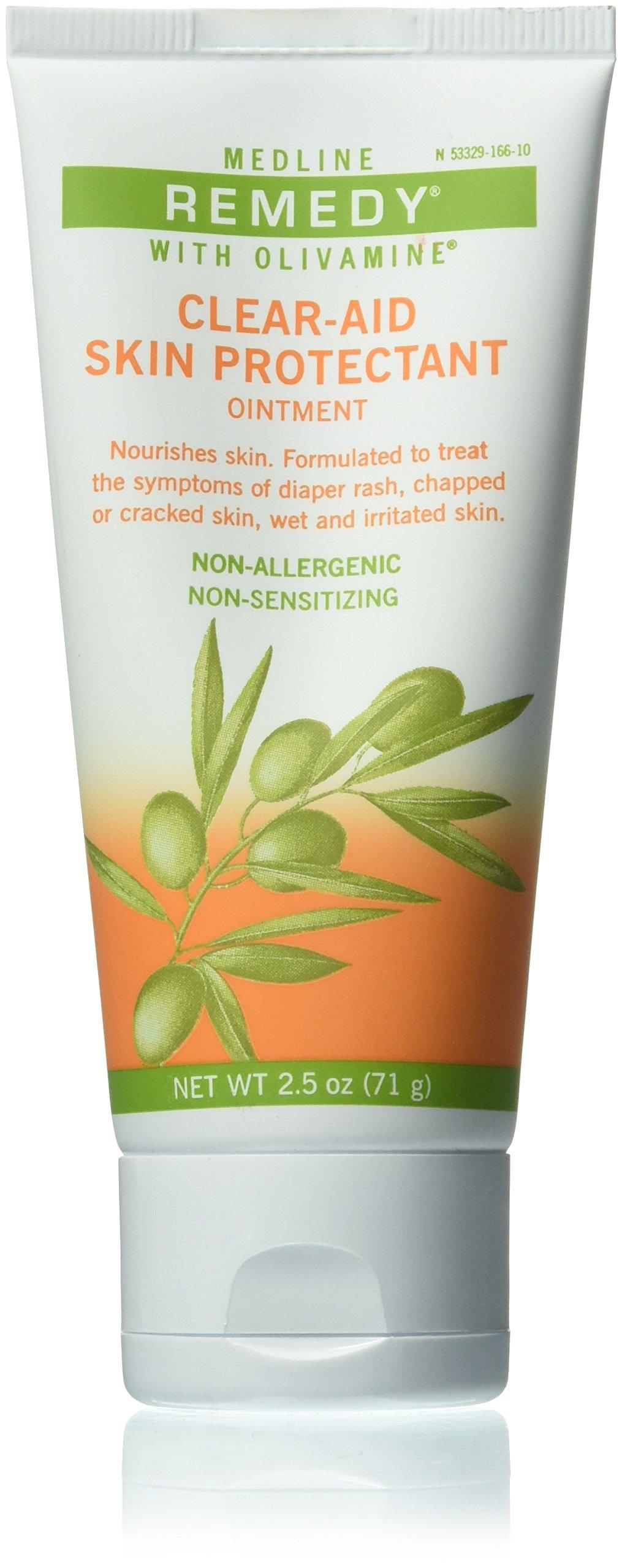 Medline Remedy Olivamine Clear-aid Skin Protectant, 2.5 Ounce