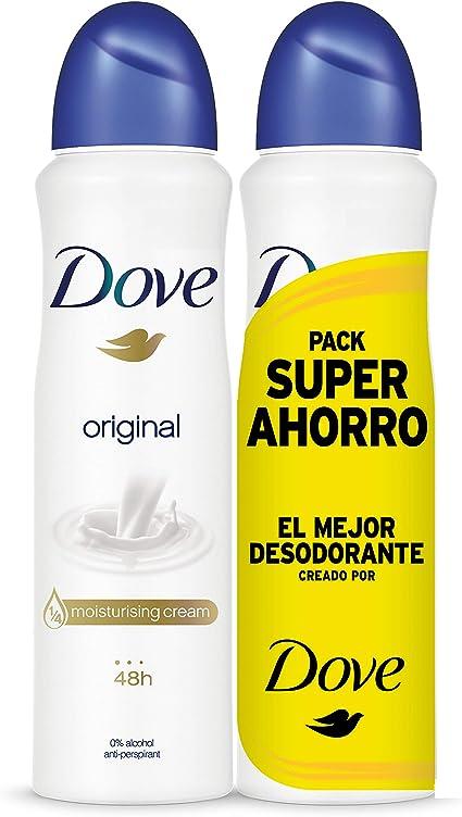 Dove - Pack Ahorro Desodorante Original (2 X 200 ml): Amazon.es: Belleza