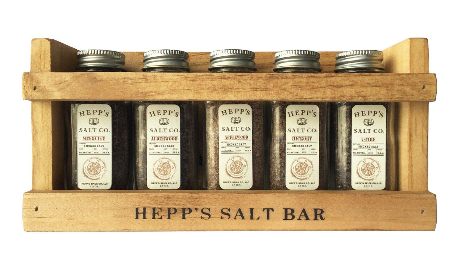 HEPP'S Salt Co. Smokehouse Collection- Mini Salt Bar Gift set