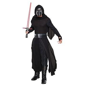 Star Wars 7 Kostüm Herren Kylo Ren Deluxe 4 Tlg Robe Kapuze Maske