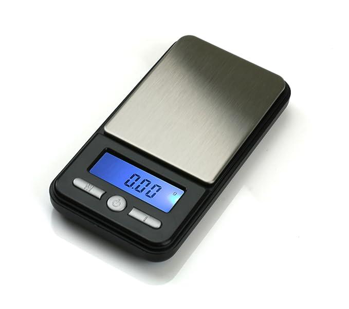 American Weigh Scales AC-100 - Báscula de cocina (LCD, Azul, Negro, AA): Amazon.es: Hogar