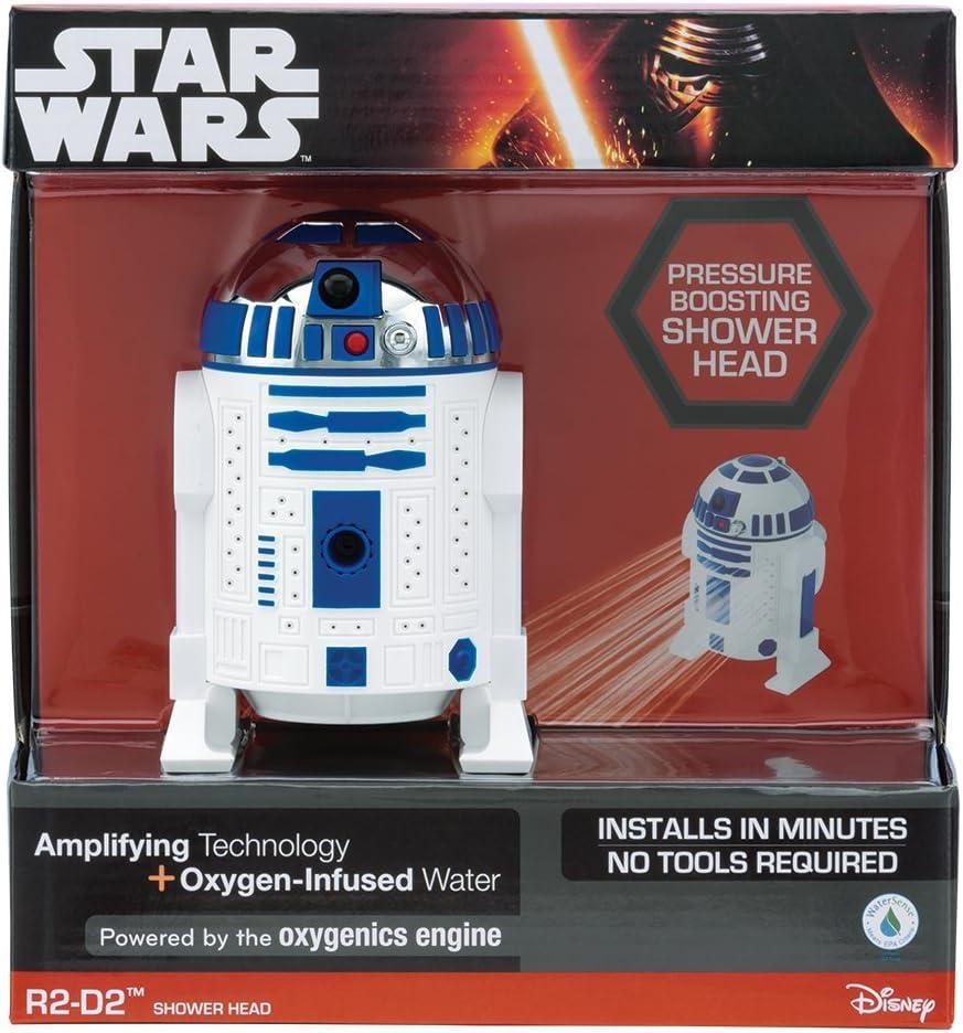 Amazon.com: Oxygenics, 73268, cabezal de ducha de R2-D2 de ...