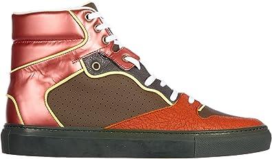 Balenciaga Chaussures Baskets Sneakers Hautes Homme en Cuir