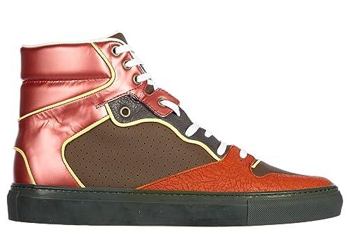 Balenciaga Zapatos Zapatillas de Deporte largas Hombres en Piel Nuevo Verde EU 43 326441 WAR117578: Amazon.es: Zapatos y complementos