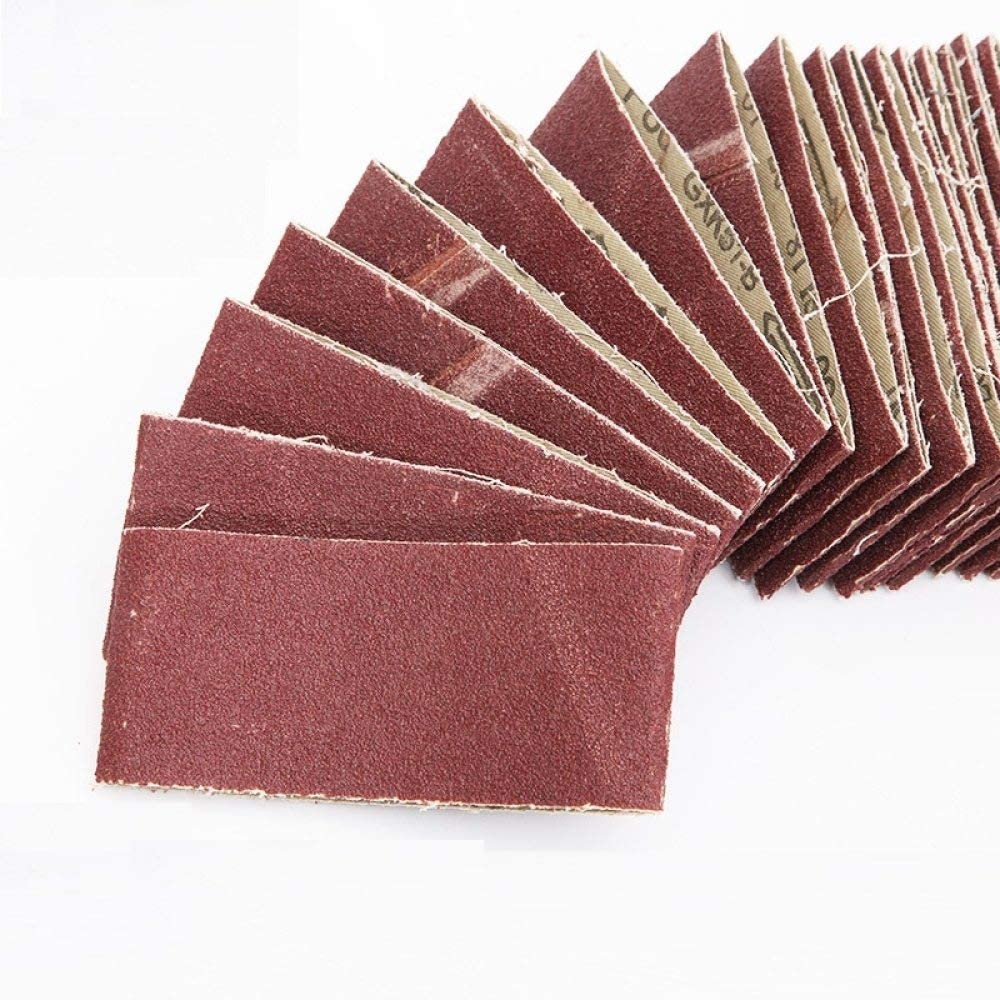TGACD Sand Belt 10 Article 260 * 60mm red Sand 40-600 mesh Sanding Belts for Metal and Wood Products,180 80