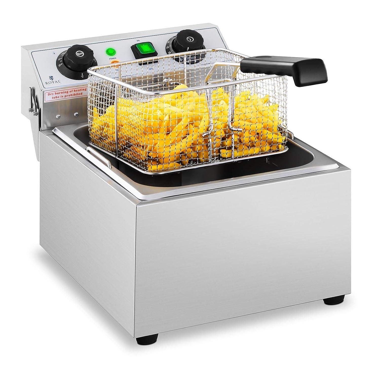 Royal Catering Freidora Eléctrica Para Hostelería 10 Litros ...