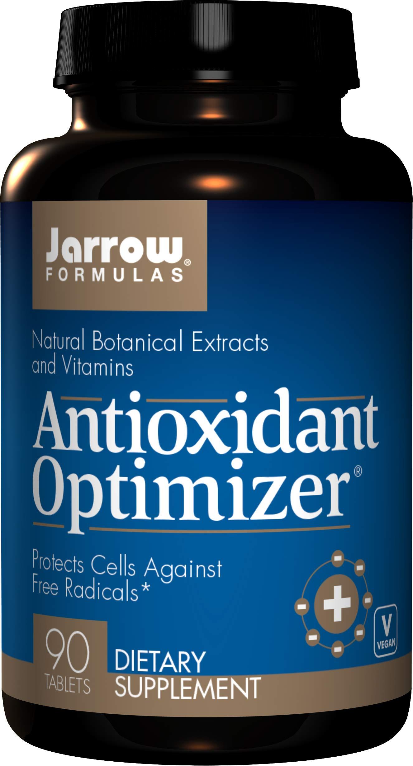 Jarrow Formulas Antioxidant Optimizer, Supports Vision, Cardiovascular Health, 90 Tabs by Jarrow Formulas