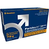 Fertilovit M plus | 90 Kapseln | 1,5-Monatspackung | hochdosierte Antioxidantien, Zink, Selen und mehr / zur diätetischen Behandlung eingeschränkter männlicher Fruchtbarkeit