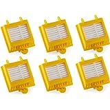 6 Hepa Filter für die iRobot Roomba Serie 700 760 770 780 790