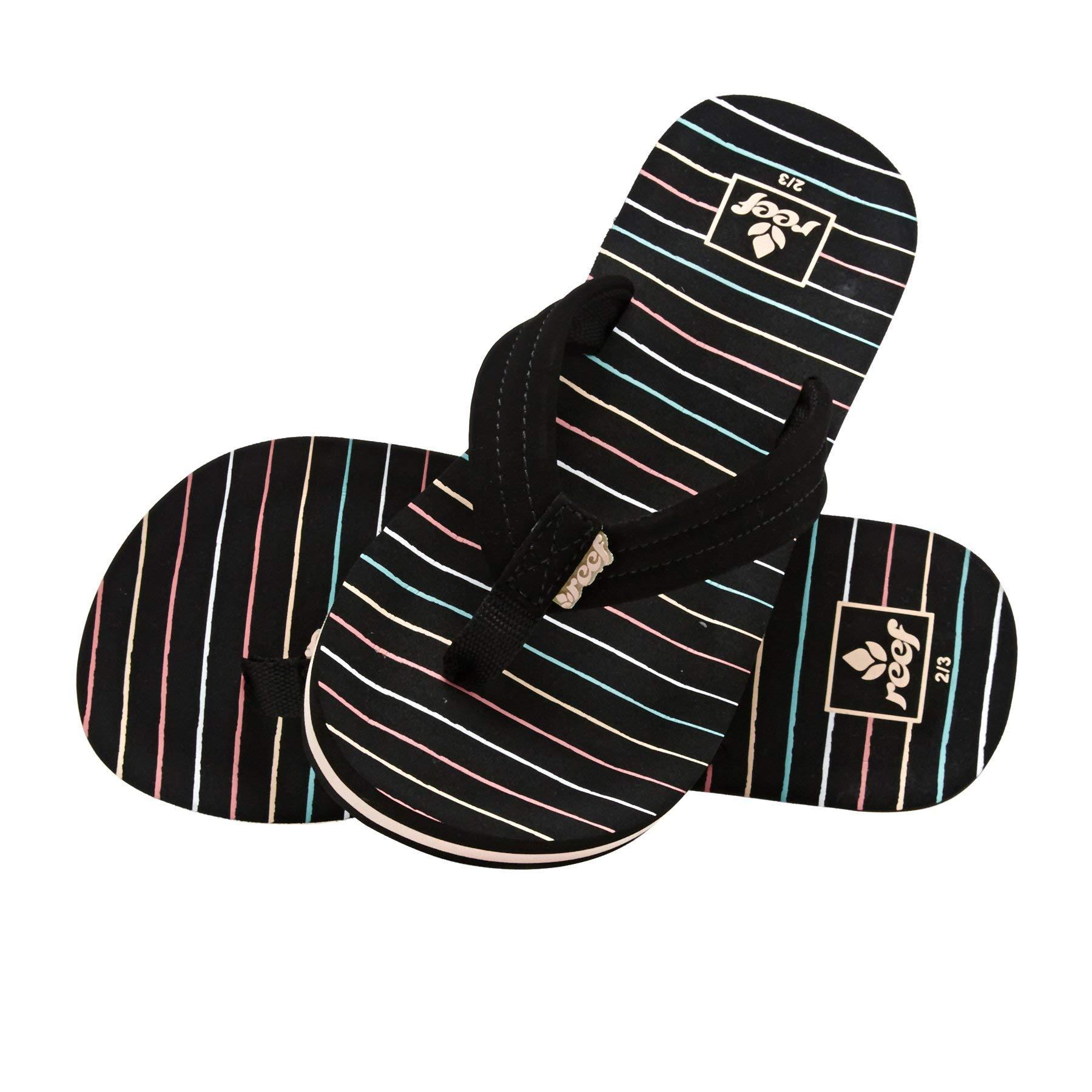 Reef Kids Ahi Kids Sandals 2-3 D(M) US Men Stripes