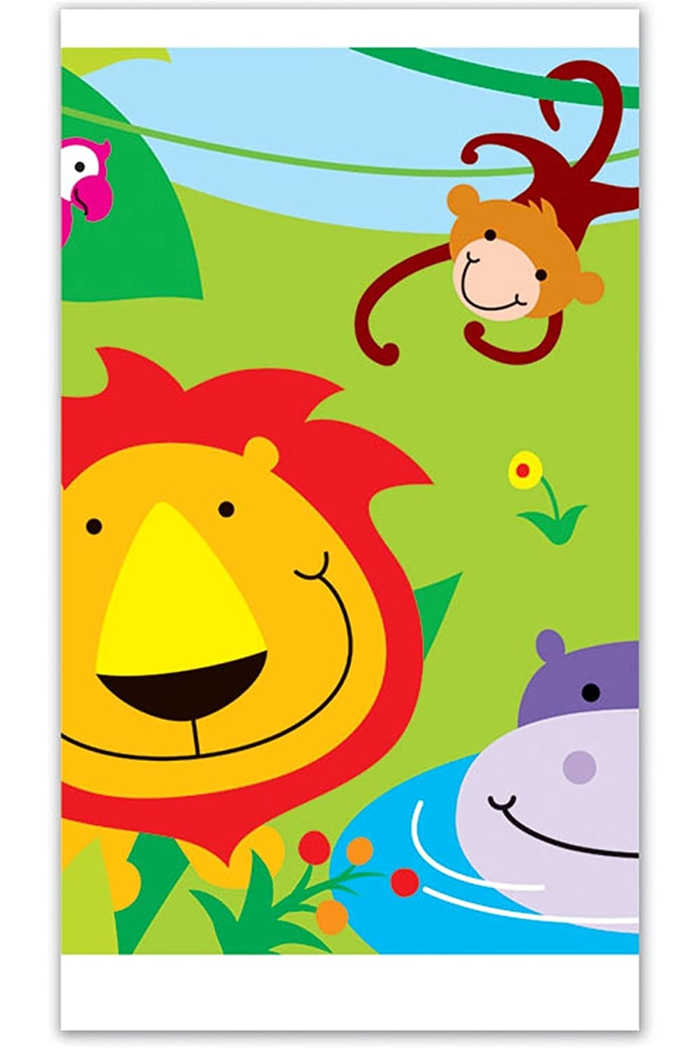 Davies 09020 Jungle Party Table Cover Qualatex
