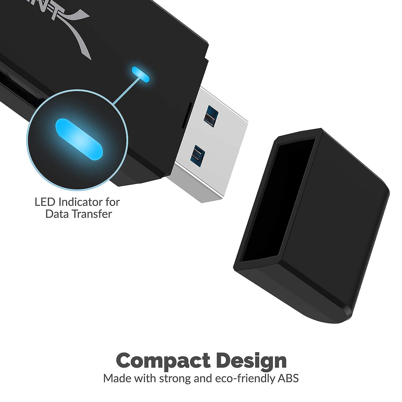 Sabrent Lector de Tarjetas SD y Micro SD USB 3.0: Amazon.es ...