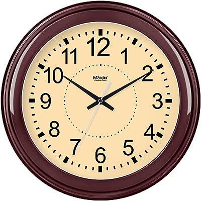 Amazon.com: Equity by La Crosse 25011 8 Inch White Clock: Home & Kitchen