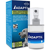 ADAPTIL Spray 20 mL – Calms & Comforts Dogs During Travel, Veterinary Visits and Stressful Events - The Original D.A.P. Dog Appeasing Pheromone Spray (20mL Spray, 1-Pack)