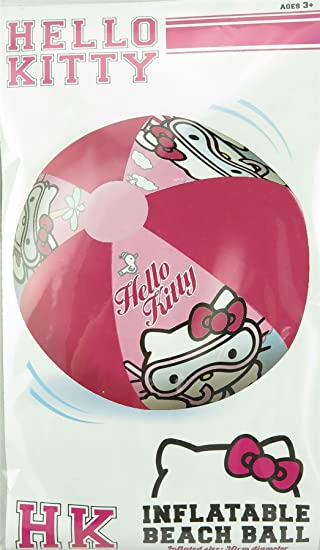Hello Kitty Inflable Pelota De Playa: Amazon.es: Juguetes y juegos
