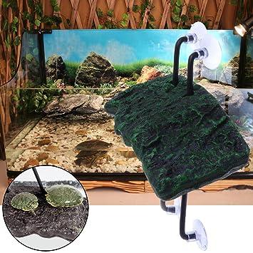 Yanhonin - Plataforma para Acuario, Tortuga Reptiles, Plataforma, terraza, Acuario, decoración: Amazon.es: Productos para mascotas