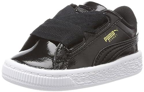 Puma Basket Heart Glam Inf, Zapatillas Unisex para Niños: Amazon.es: Zapatos y complementos