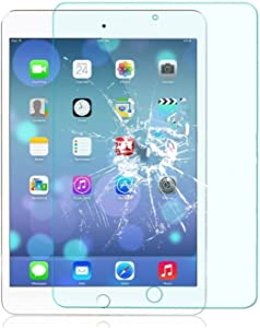 TANTEK l208 HD Clear Tempered Glass Screen Protector for Apple IPad Mini 4, 2 Piece