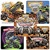 Monster Jam Truck Trios Stickers - Prizes and Giveaways - 100 Per Pack