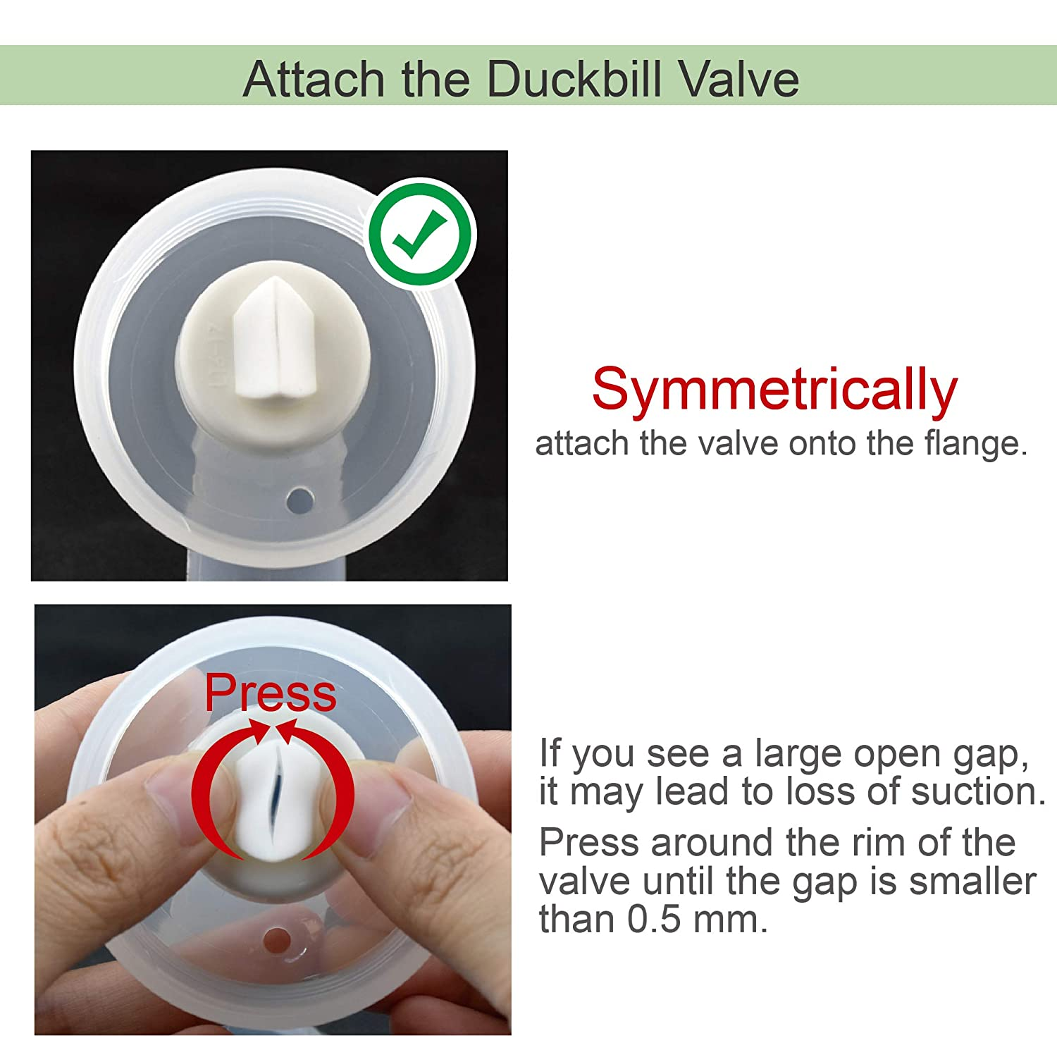 Maymom Duckbill Valves for Spectra 3G 4pc Apricot Designed for Spectra S1 Spectra S2 Spectra 9 Plus Spectra Dew 350 Not Original Spectra Pump Parts Spectra S2 Accessories Replace Spectra Valve