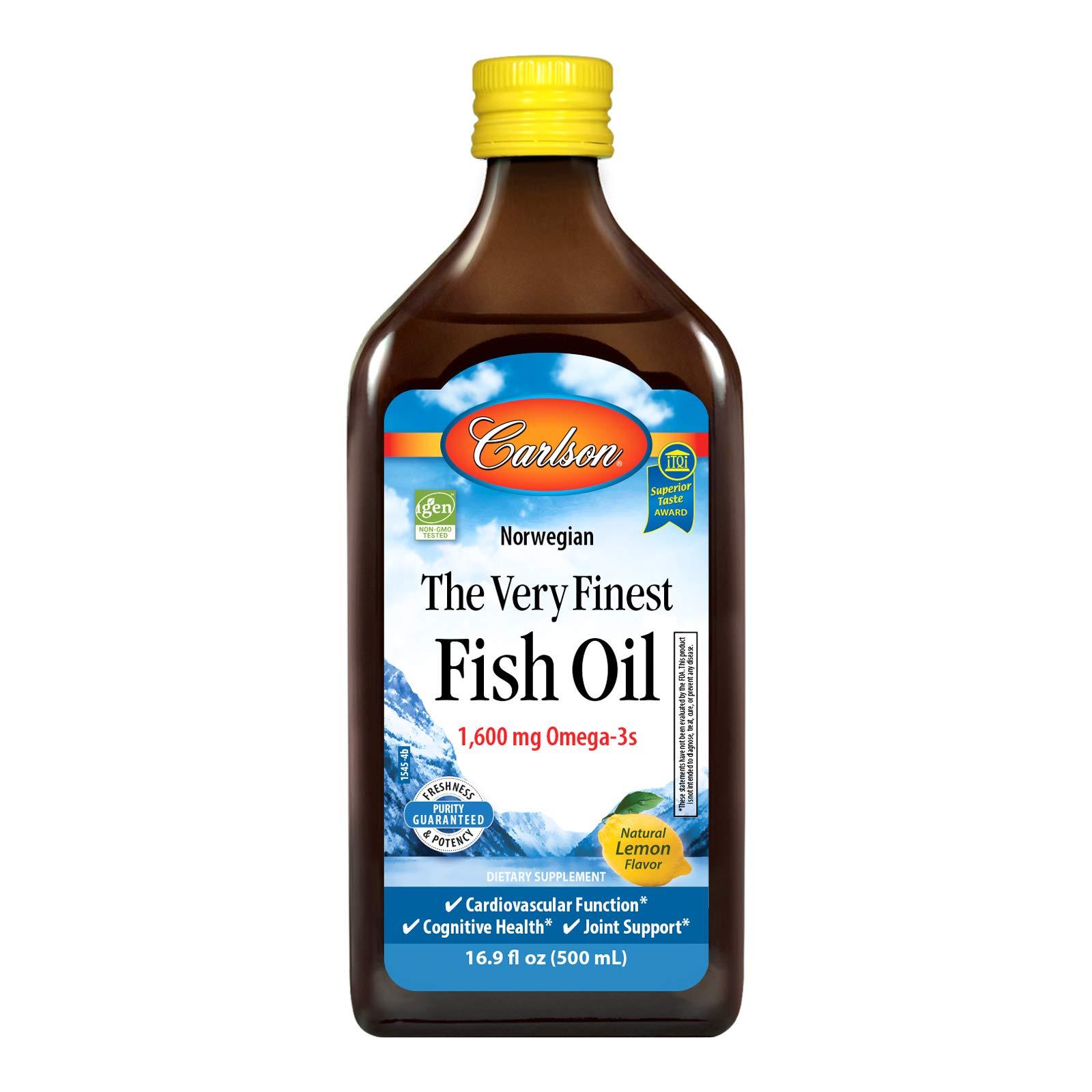 Carlson-Fish Oil Lemon 16.9fl o