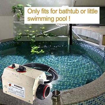 Swimmingpool Thermostat 220V 3KW SPA Heizung Elektrische Heizung