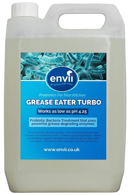 Grasa Eater Turbo, 2 X 5L, Grasa Degrade enzimas, limpiador ...