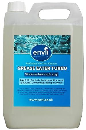 Grasa Eater Turbo, 1 x 5L, Grasa Degrade enzimas, limpiador ...