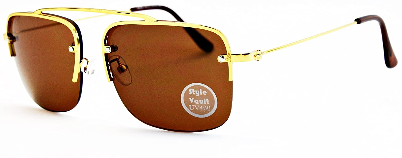 A3052-VP Style Vault Semi-Rimless Sunglasses