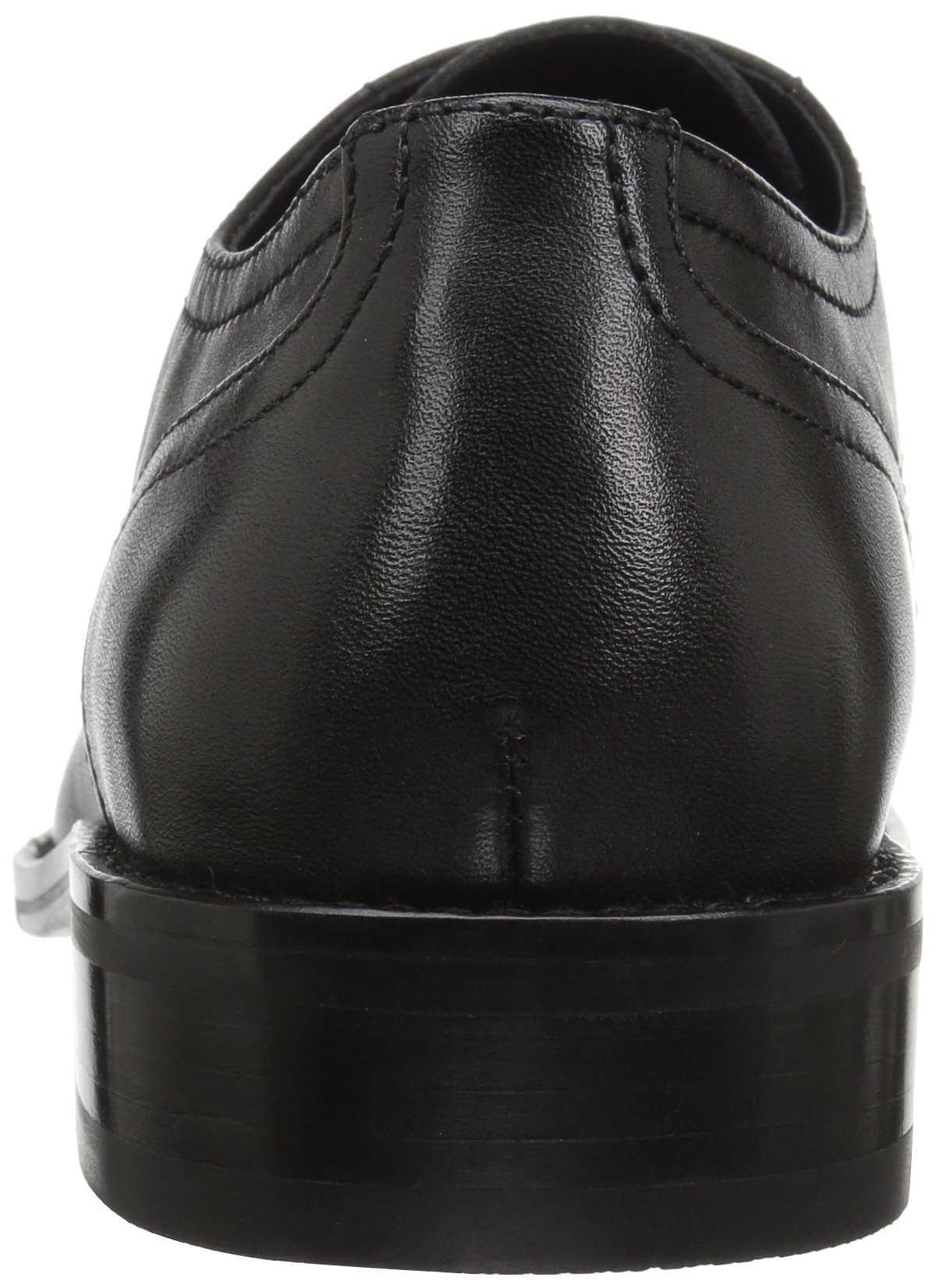 206 Collective Men's Concord Plain-Toe Oxford Shoe, Black, 13 2E US by 206 Collective (Image #2)