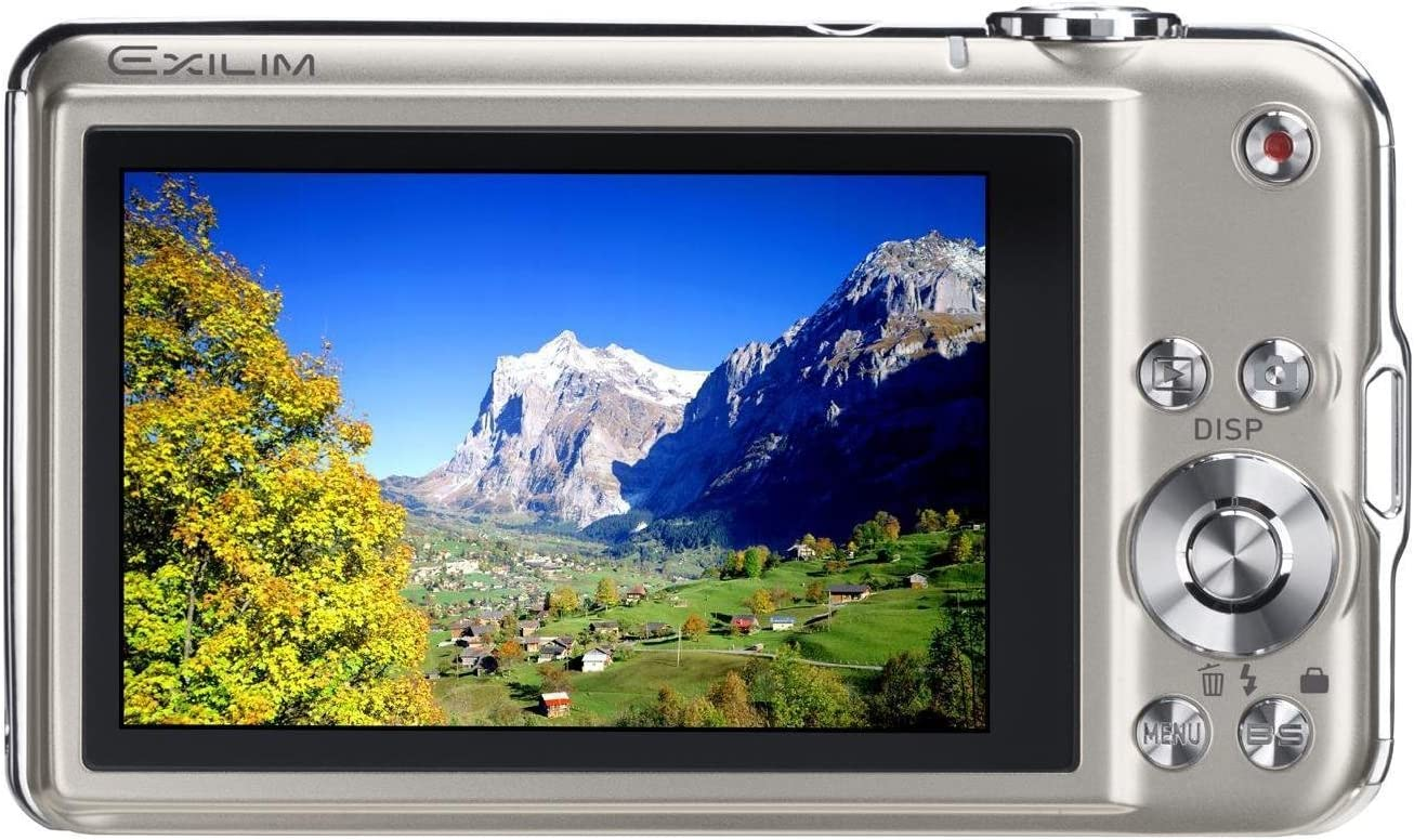 Casio Exilim Ex S12 Sr Digitalkamera 2 7 Zoll Silber Kamera