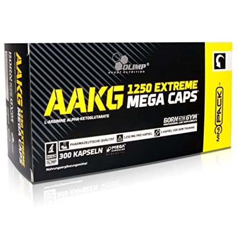 148fb22e37d Olimp AAKG Extreme Mega/Blister Box Amino Acid Supplement: Amazon.in:  Health & Personal Care
